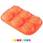 """Форма для выпекания силиконовая """"Розы"""" Stenson 064"""