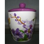 Емкость для сыпучих INTEROS 104068 сахарница ( 450 мл) орхидея