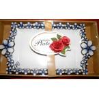 Блюдо FRUITS Plate 170 прямоугольное фарфор