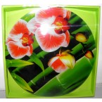 Блюдо Luminarc 3012 Q 067 орхидея-бамбук зел.*34087