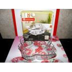 Салатник стеклянный Noritazen 460715  Листик