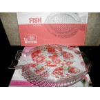"Блюдо стекло рыбка 641031W Noritazeh ""Fish"""