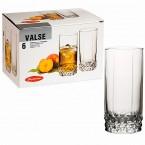Набор стаканов Pasabahce Valse  42942 (275 мл)
