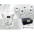 Набор стаканов Bohemia, Quadro ( 340 мл) * 19909