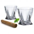 Набор стаканов Bohemia 936-99 A, Quadro * 21211