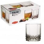 Набор стаканов Pasabahce, Valse (315-325 ml) широкие 42945