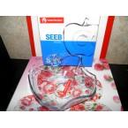 Салатник стеклянный Noritazen  410715 Яблоко 19 cм