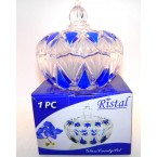 "Конфетница стекло 315 Ristal 87 V   ""Сапфир"" *17741"