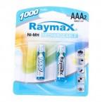 Батарейка аккумулятор.. Raymax  HR03/ AAA 1000mAh