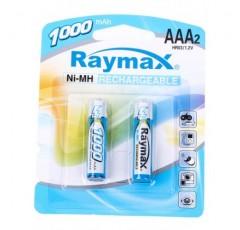 Батарейка аккумулятор Raymax  HR03/ AAA 1000mAh