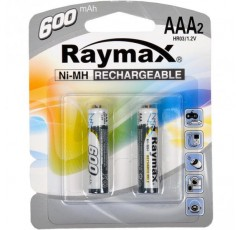 Батарейка аккумулятор Raymax  HR03/ AAA 600mAh