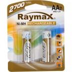 Батарейка аккумулятор Raymax  HR06/ AA 2700mAh
