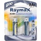 Батарейка аккумулятор.. Raymax  HR06/ AA 600mAh