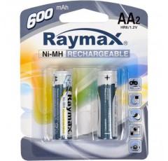 Батарейка аккумулятор Raymax  HR06/ AA 600mAh