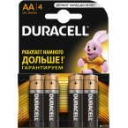 Батарейки Duracell Basic AA LR06