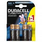 Батарейки Duracell Turbo Max AA LR06