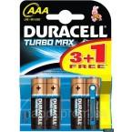 Батарейки Duracell Turbo Max AAA LR03
