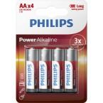 Батарейки Philips Power Alkaline AA LR6