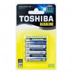 Батарейки Toshiba Alkaline AAA LR3