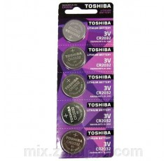 Батарейка Toshiba