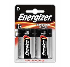 Батарейка Energizer Alkaline Power R20