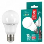 Лампочка Titanum A60 10W E27 4100K 220V